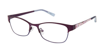 Purple Ted Baker B967 Eyeglasses - Teenager.