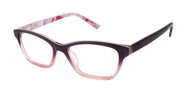 Purple Ted Baker B966 Eyeglasses - Teenager.