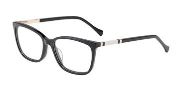 Black Lucky Brand D225 Eyeglasses.