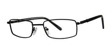Black Vivid Eyeglasses Metalflex 1012.