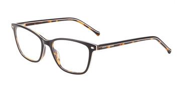 Black Tort Lucky Brand D227 Eyeglasses.