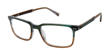 Olive/Brown Ted Baker TM006 Eyeglasses.