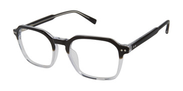 Black/Crystal Ted Baker TM005 Eyeglasses.
