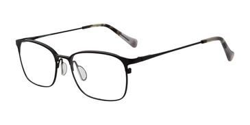 Black Lucky Brand D310 Eyeglasses.