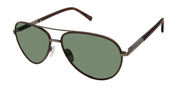 Brown Ted Baker TBM064 Sunglasses.