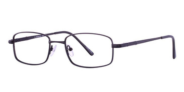 Black Vivid Eyeglasses Metalflex 1023.
