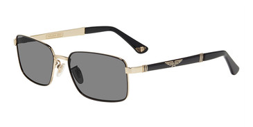 Black W/Gold(301P) Police SPLA54 Sunglasses.