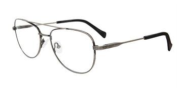 Gunmetal Lucky Brand D313 Eyeglasses.
