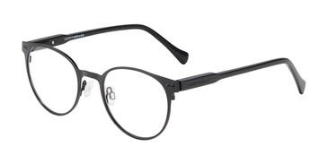 Black Lucky Brand D314 Eyeglasses - Teenager