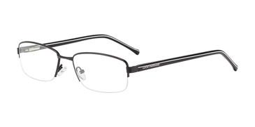 Black Lucky Brand D315 Eyeglasses.