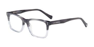 Grey Blue Lucky Kid D724 Eyeglasses - Teenager