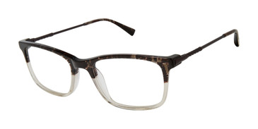 Black/Crystal Buffalo BM001 Eyeglasses.