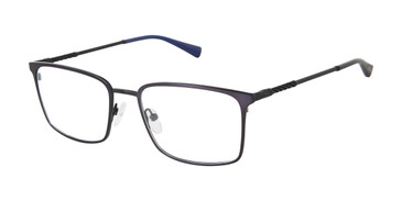 Navy Buffalo BM508 Eyeglasses.