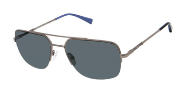 Dark Gunmetal Buffalo BMS003 Sunglasses.
