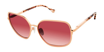 Rose Gold Buffalo BWS009 Sunglasses.