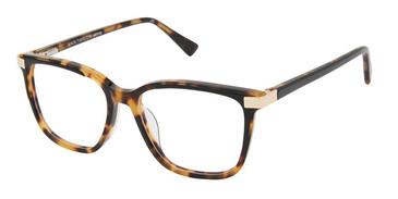 Black Tortoise (c01) Ann Taylor ATP819 Petite Eyeglasses