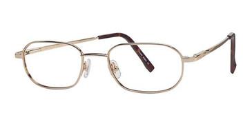 Gold Wolverine W018 Safety Eyeglasses