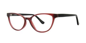 Burgundy Gallery Bree Eyeglasses.