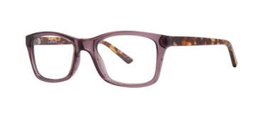 Purple Gallery Vicki Eyeglasses.