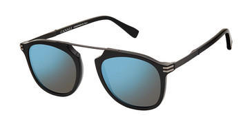 C01 Shiny Black Canali 214 Polarized Sunglasses.