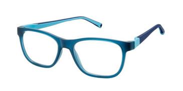 Blue W-Blue Strap Life Italia JF-901 Eyeglasses.