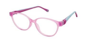 Purple W-Violet Strap Life Italia NI-141 Eyeglasses - Teenager