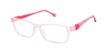 Fuchsia Violet W-Pink Strap Life Italia NI-136 Eyeglasses.