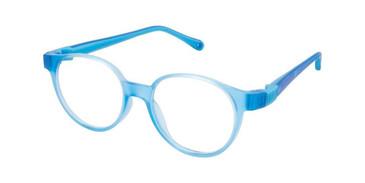 Royal Blue W-Blue Strap Life Italia NI-134 Eyeglasses.