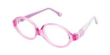 pink W-pink Strap Life Italia NI-131 Eyeglasses.