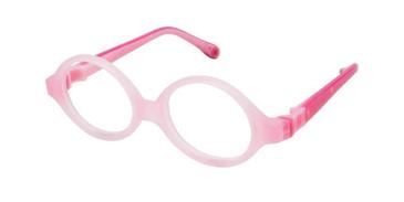 Pink Fuchsia W-Pink Strap Life Italia NI-130 Eyeglasses.