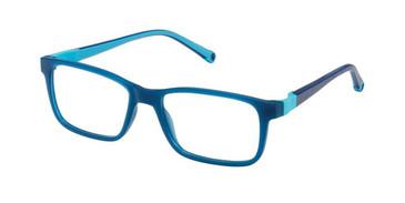 Blue W-Blue Strap Life Italia JF-904 Eyeglasses.