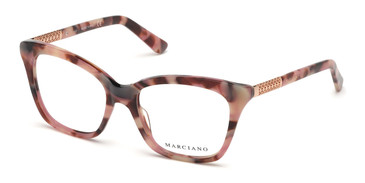 Pink /Other Marciano GM0360 Eyeglasses.