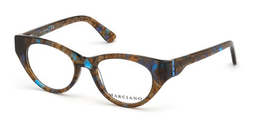 Blue/Other Marciano GM0362-S Eyeglasses - Teenager