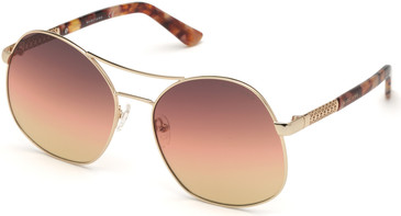 Gold/Gradient Smoke Marciano GM0807 Sunglasses.