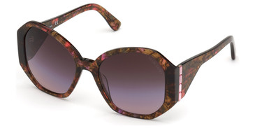 Pink/Other Marciano GM0810-S Sunglasses.