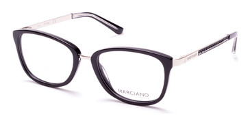 Black/Other Marciano GM0325 Eyeglasses.
