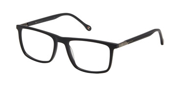 Matte Black c01 Champion Crosby Extended Size Eyeglasses.