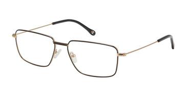 Matte Black c01 Champion Devon Extended Size Eyeglasses.