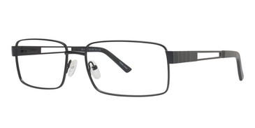 Matt Black Vivid Big And Tall 6 Eyeglasses.