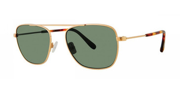 Gold Zac Posen Estrada Sunglasses