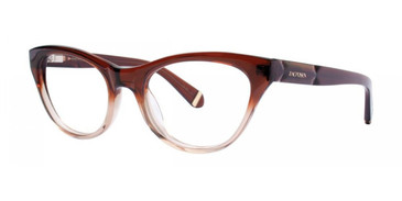 Brown Zac Posen Gloria Eyeglasses