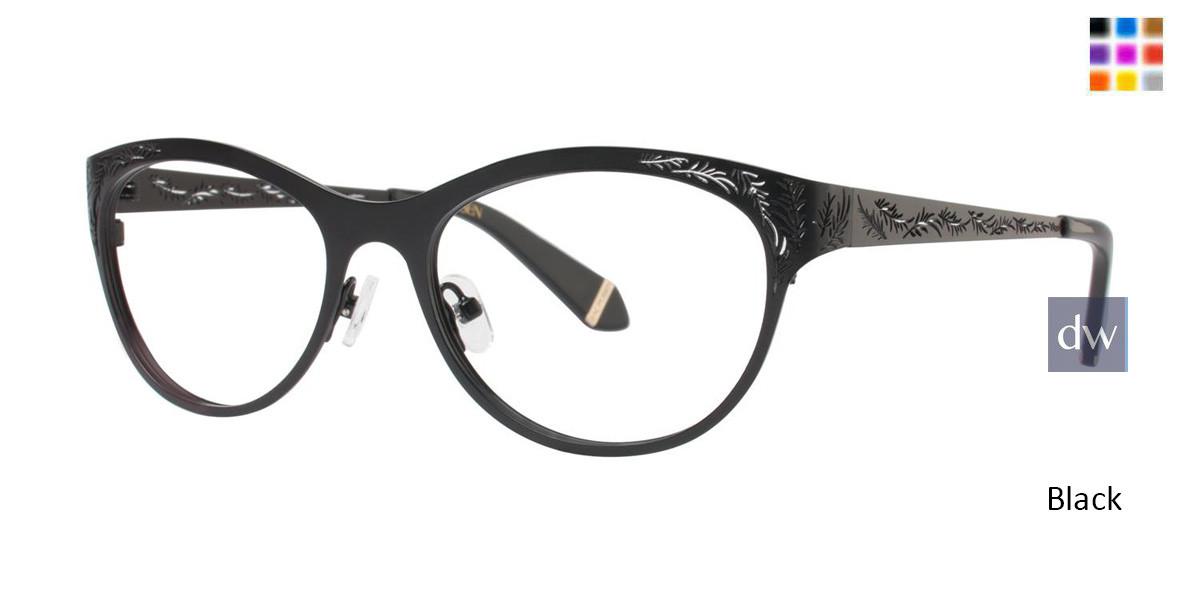 Black Zac Posen Gayle Eyeglasses