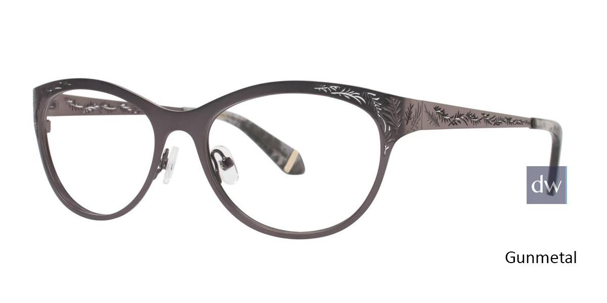 Gunmetal Zac Posen Gayle Eyeglasses