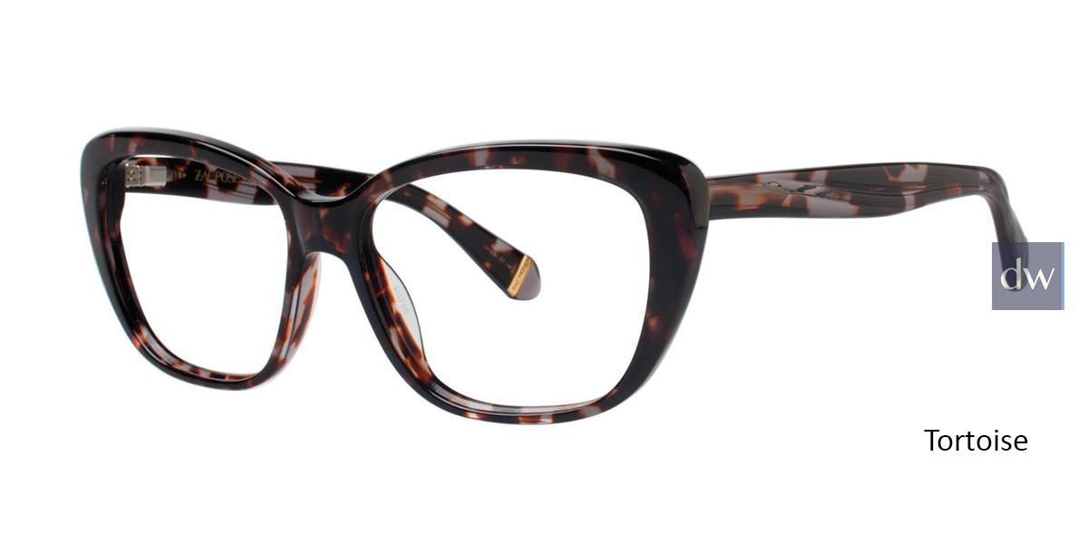 Tortoise Zac Posen Loretta Eyeglasses