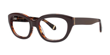 Brown Zac Posen Katharine Eyeglasses
