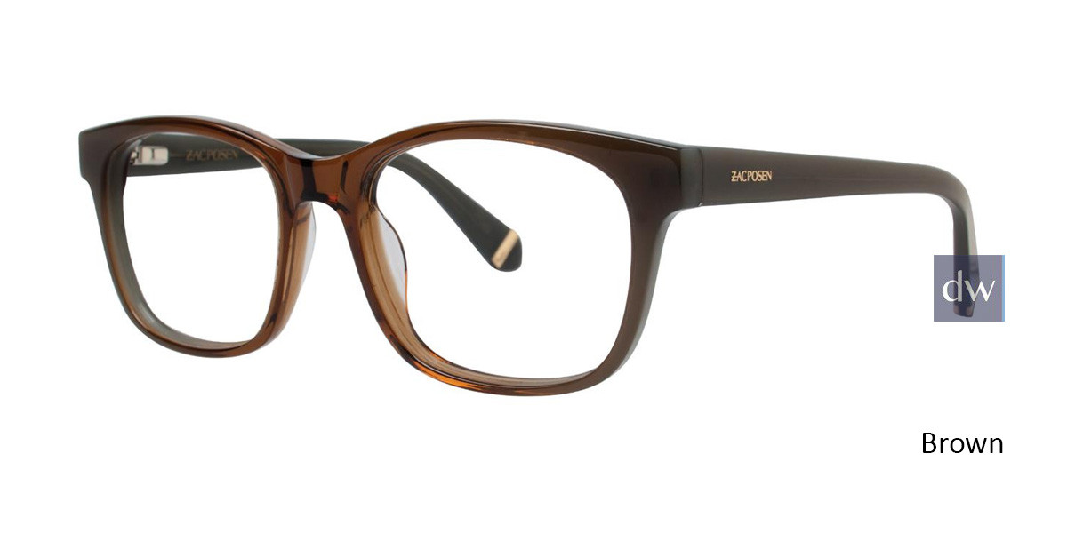 Brown Zac Posen Zora Eyeglasses