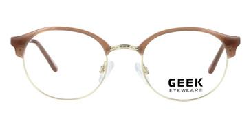Beige GEEK HORIZON Eyeglasses - Teenager.
