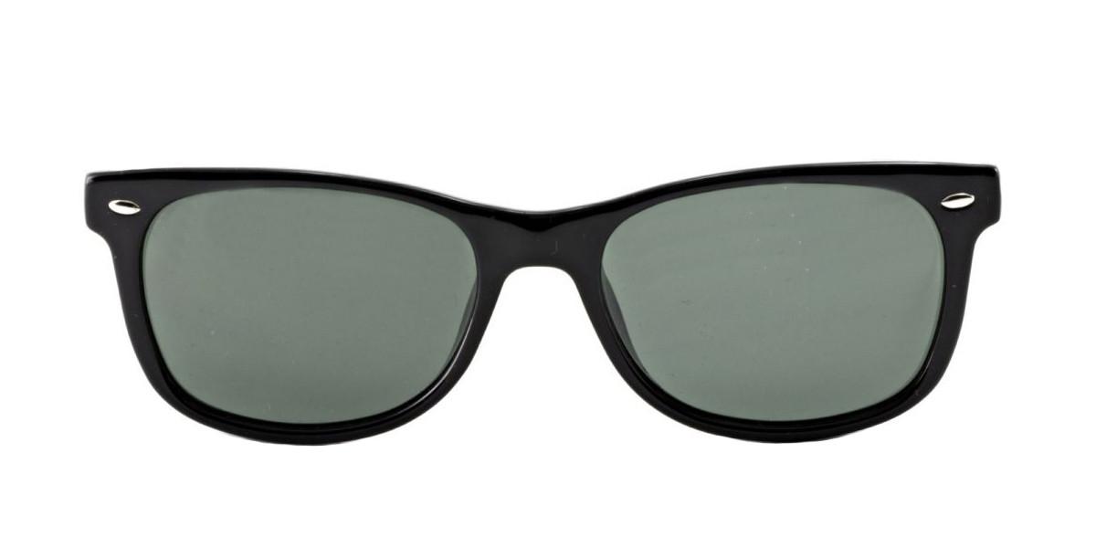 e1f28ee81 ... Black Green Classic 100/71 RayBan RJ9052S New Wayfarer Junior Sunglasses  ...