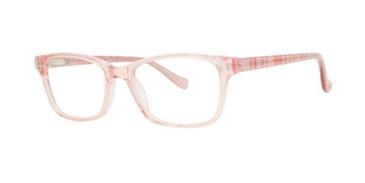 Pink Kensie Girls RX Shimmer Eyeglasses - Teenager
