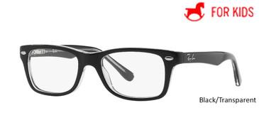 Black/Transparent RayBan RB1531 Eyeglasses
